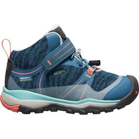 Keen Terradora WP Mid Shoes Barn aqua sea/coral